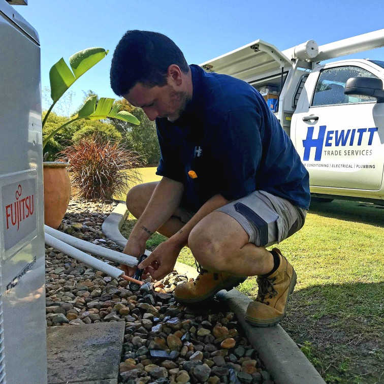 Split System Air Conditioning Installations - Hewitt Trade Services